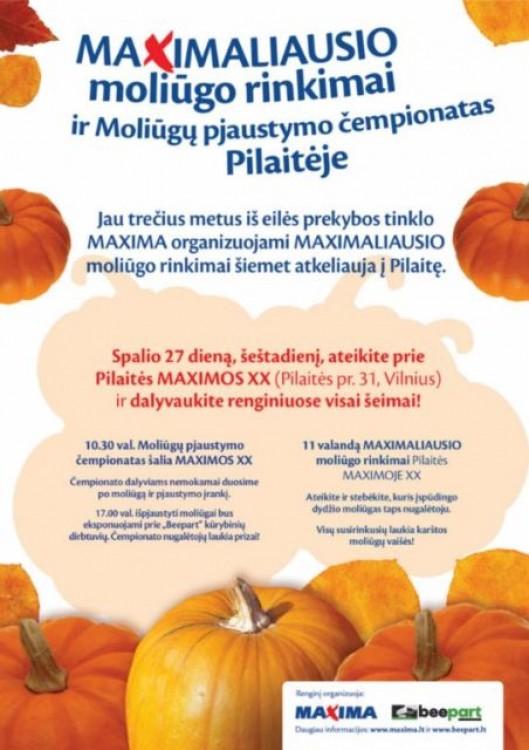 2012 10 19 Plakatas A3 Pilaitei III.jpg